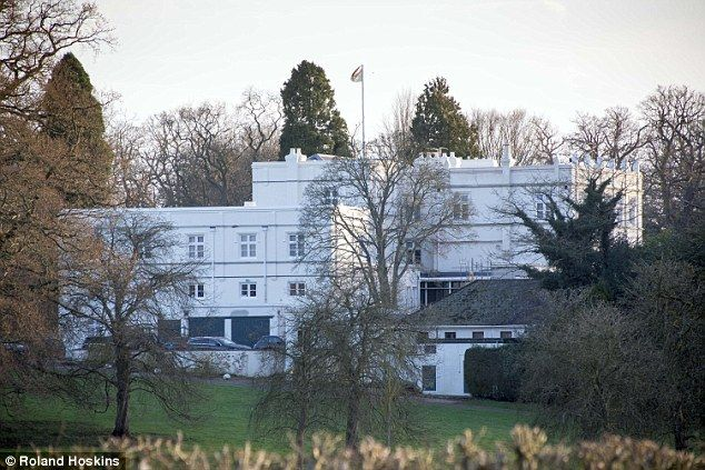 Prince Andrew Is Believed To Be Holed Up In His Royal Lodge Home Windsor Park