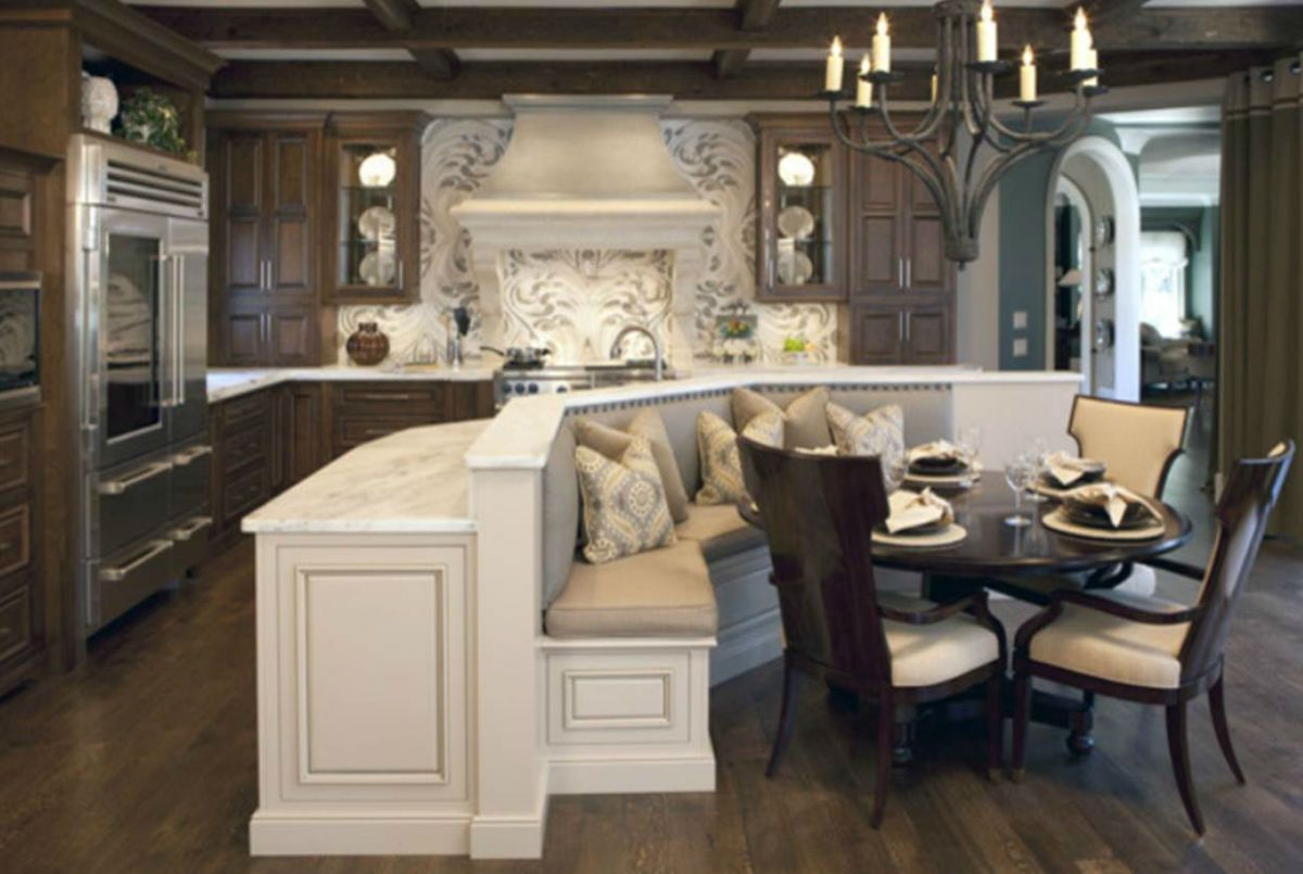 Kitchen room choices of kitchen islands with seating for