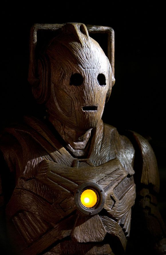 The Time Of The Doctor--Wooden Cyberman
