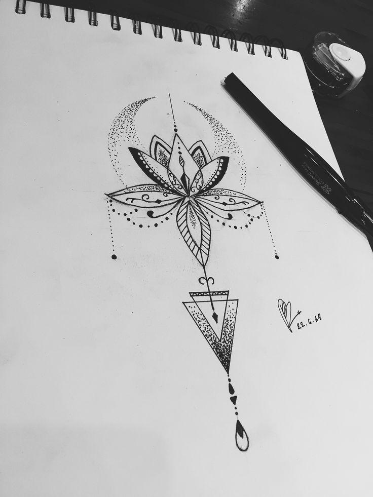 Photo of Mandala tattoo design, #design #mandala #tattoo