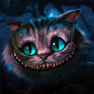 anfitriona Acrobacia Corte de pelo  tim burton - yahoo Image Search Results | Gato de cheshire, Gato de alicia,  Pintura de gato