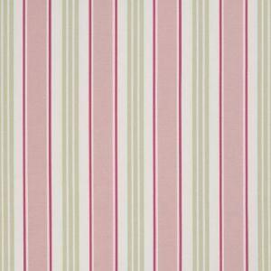 Clarke and Clarke Deckchair Stripe Taupe Designer Curtain Upholstery Fabric