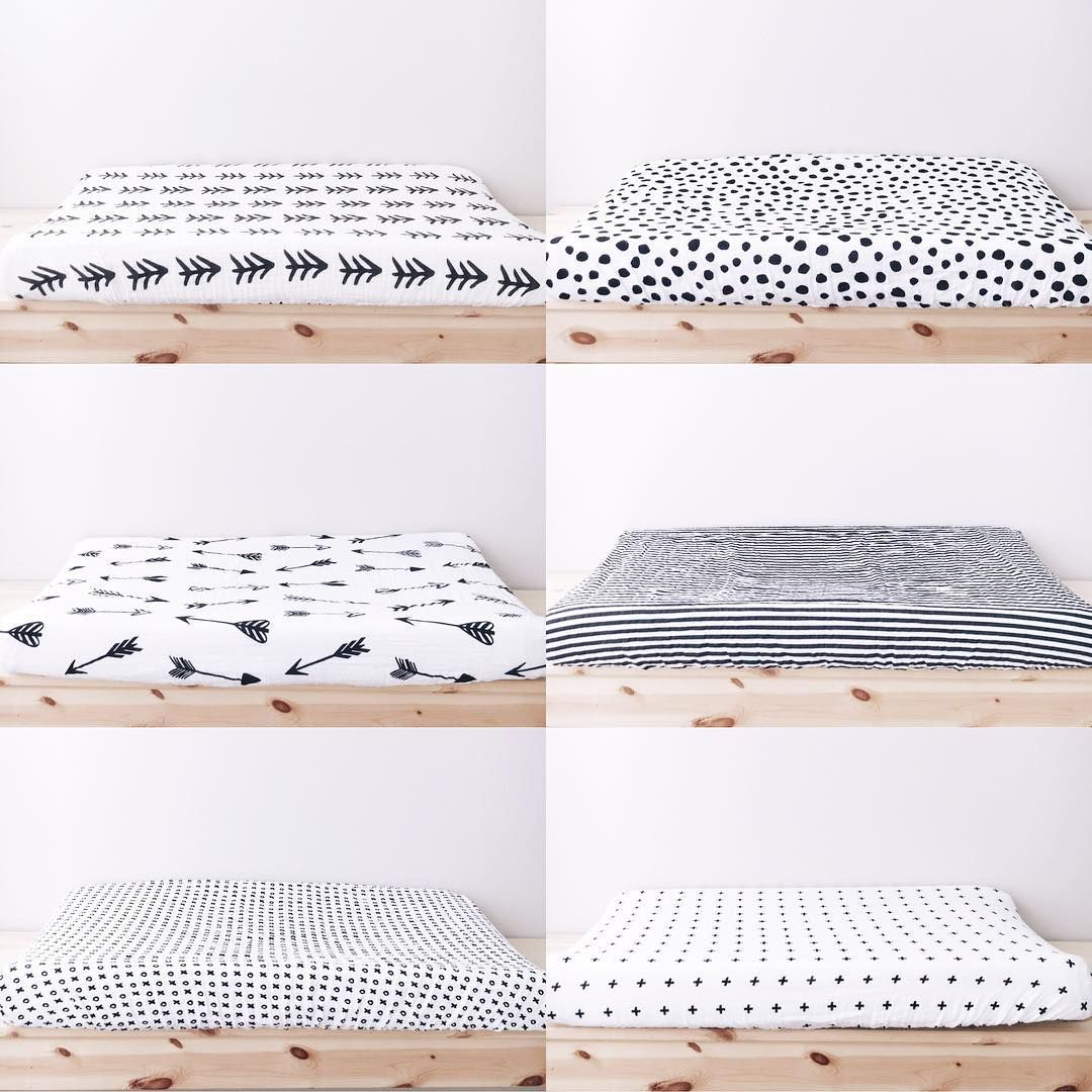 Modern Changing Pad Covers