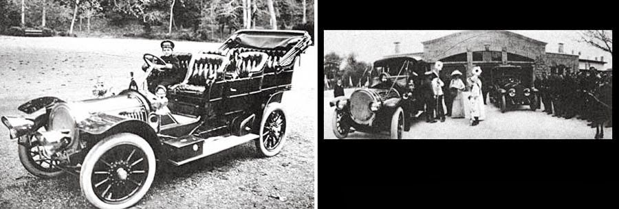 French made Delaunay-Belleville, touring version Russian Tsar Emperor Nicholas II's favorite car - Dark Roasted Blend