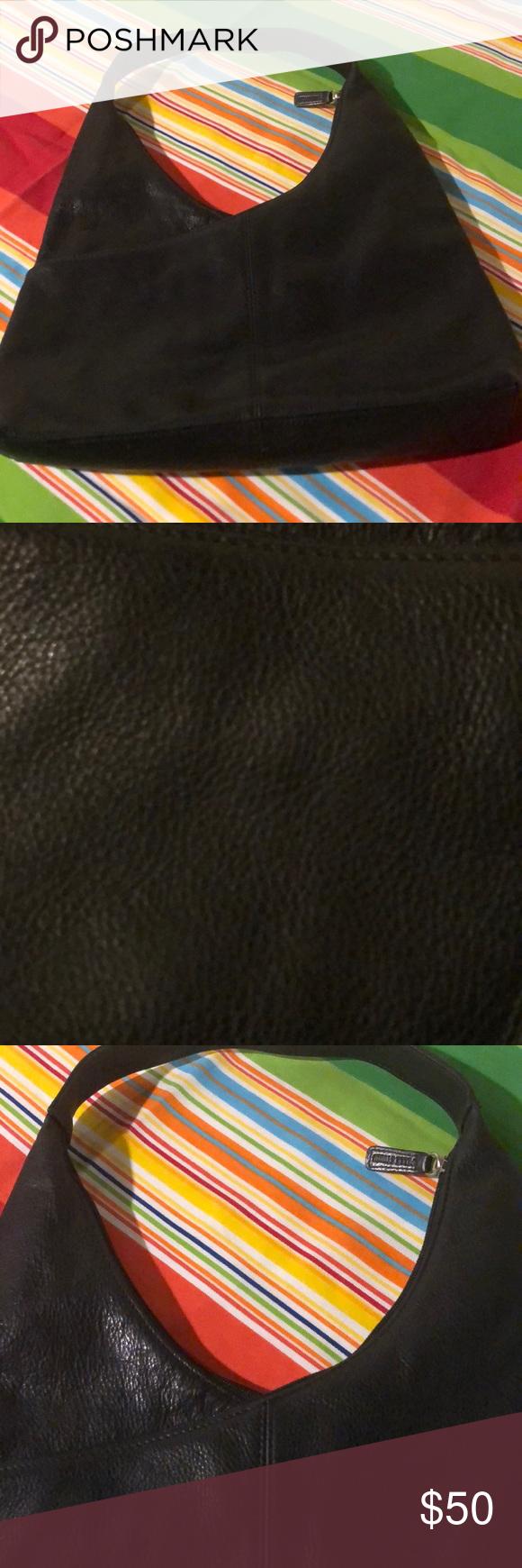 Wilson's Leather Pelle Studio purse black Wilson's Leather