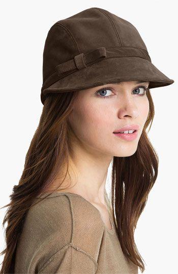 Espresso Brown, Eric Javits Suede Cap Nordstrom Hats