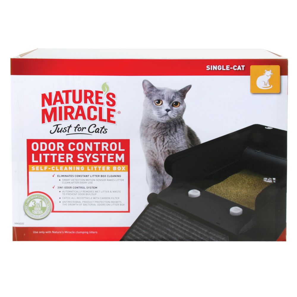 Nature's Miracle Odor Control Automatic Cat Litter Box
