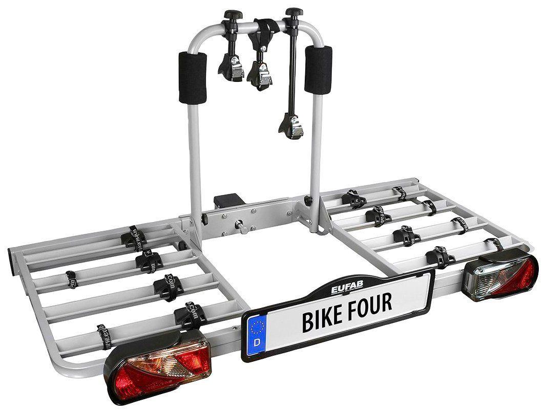 Fahrradtrager Bike Four Fur Die Anhangerkupplung In 2020