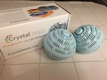 Product Review Crystal Wash Laundry Ball Laundry Ball Laundry