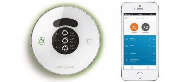 Honeywell Lyric Takes on Google's Nest Thermostat   Smarthome