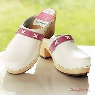 Genuine Swedish hand made clogs. Design: Elisabet Ädelroth.