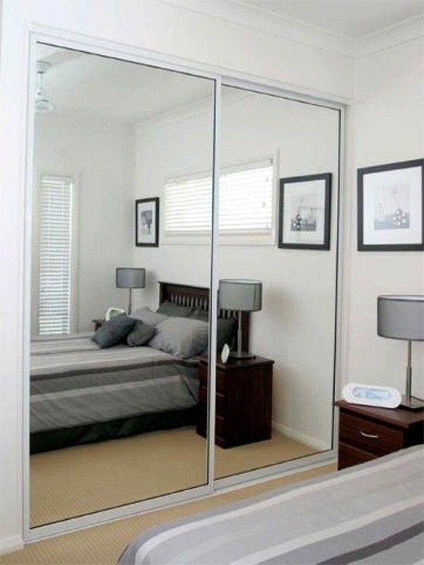 Gloss Sliding Wardrobes With Mirrors Closet Para Cuartos