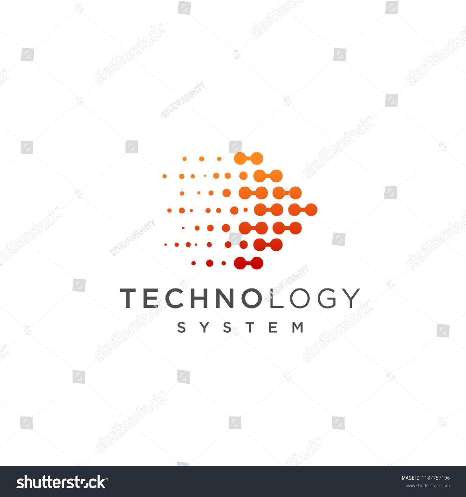 Abstract Technology Logo Template Vector Icon Logo Technology Abstract Icon With Images App Design Inspiration Logo Templates Technology Logo