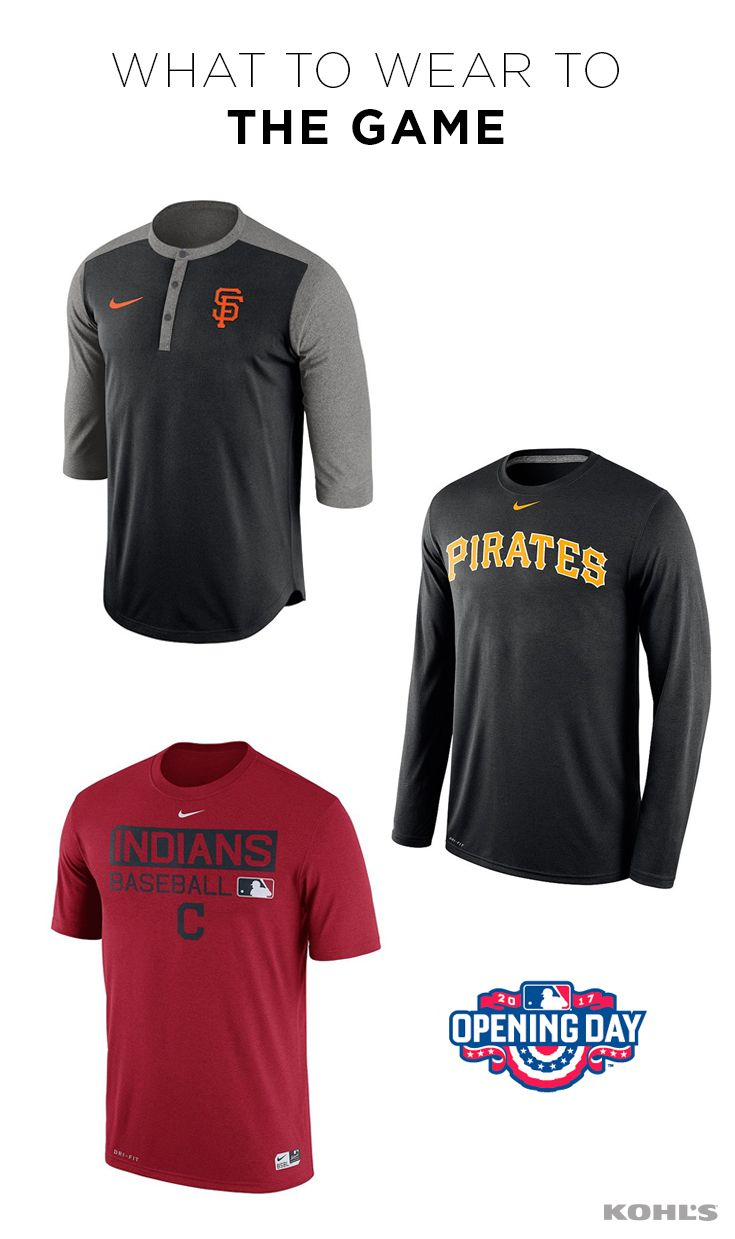 Whether You Re Tailgating Or Sitting Behind Home Plate You Ve Got To Rep Your Team In Major League Style Gear Up For Opening Day Mlb Gear Mlb Baseball Shirts