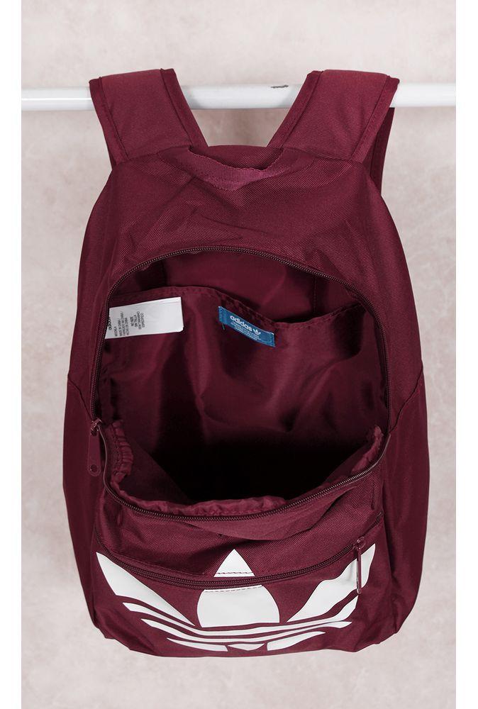 Mochila Adidas BP Classic Trefoil Burgundy Fashion Closet -  fashioncloset-mobile a5138f894