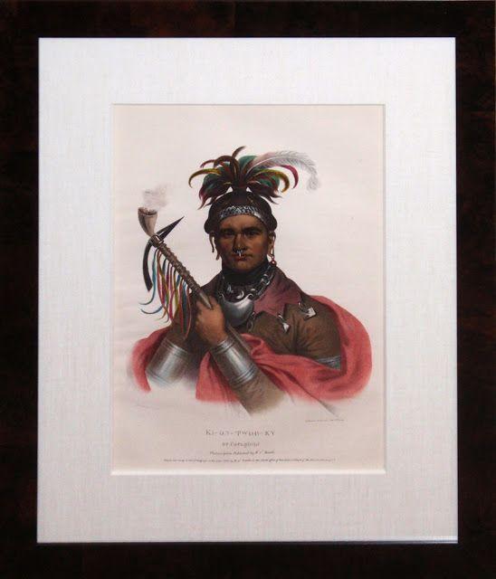 Seneca chief Cornplanter. Portrait par Frederick Bartoli, 1796. --- Gaiänt'wakê (Kaintwakon), plus connu sous le nom de Cornplanter; né en 1740 mort en 1836, était un chef de guerre de la tribu amérindienne des Sénécas. Sa mère était Sénéca, son père Hollandais, marchand de fourrures. Il est né à Canawaugus dans ce qui est de nos jours l'état de New York. (Wikipedia)