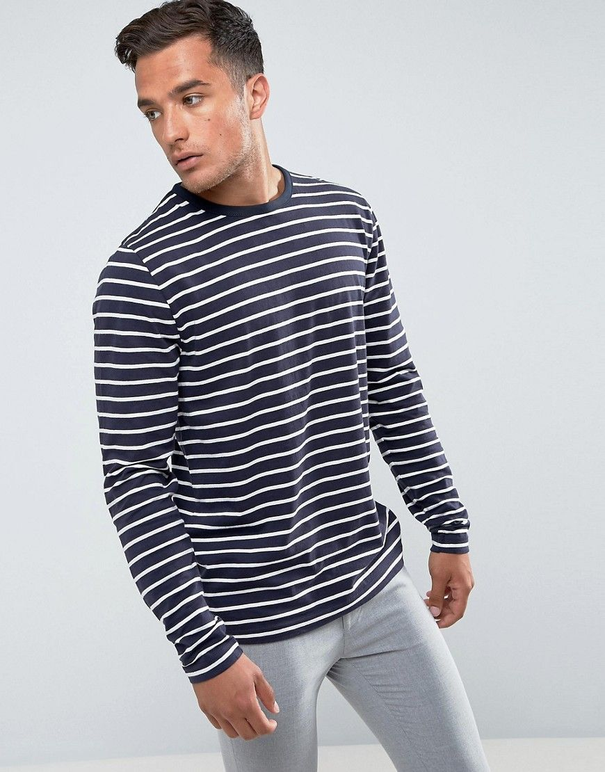 Bellfield TALL - Polo en maille - Navy iCOTHVps