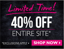The Body Shop 40% off entire site