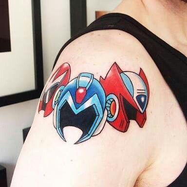 Megaman tattoo