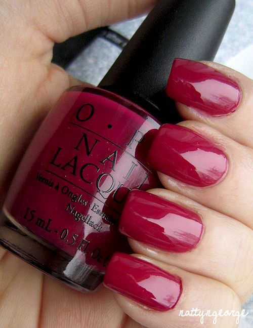 OPI Miami Beet | Hair,Nails and such! | Pinterest | Manicuras y Esmalte
