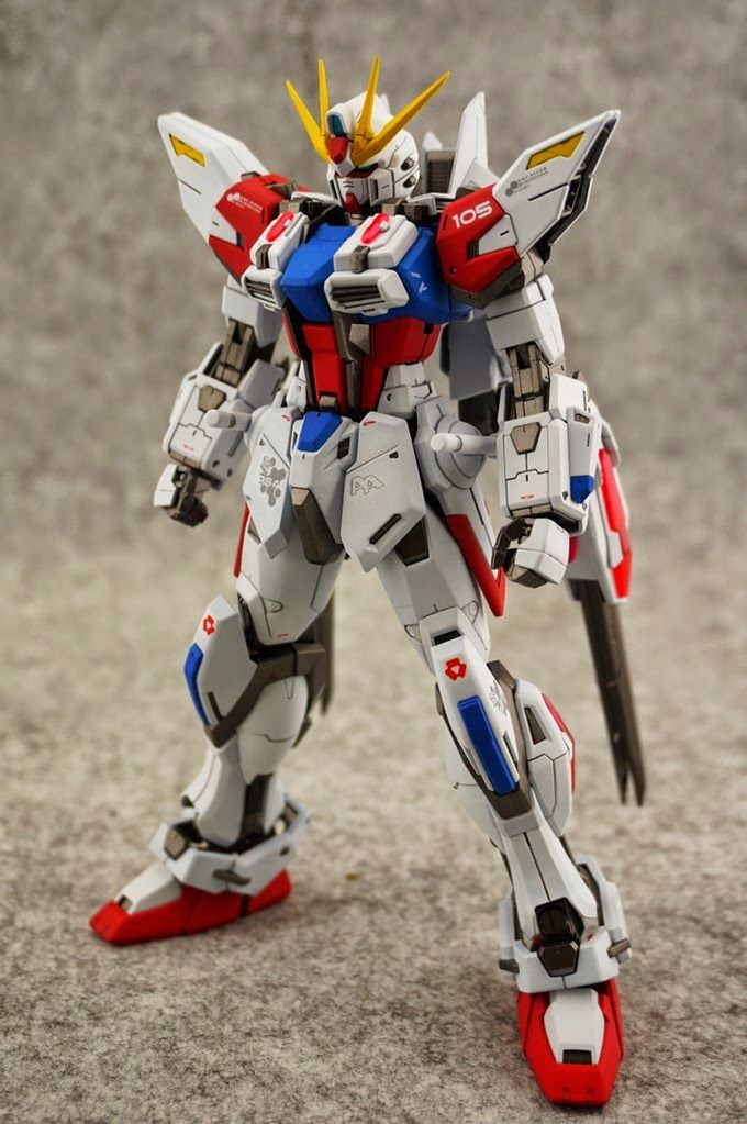 GUNDAM GUY: MG 1/100 Star Build Strike Gundam - Painted Build