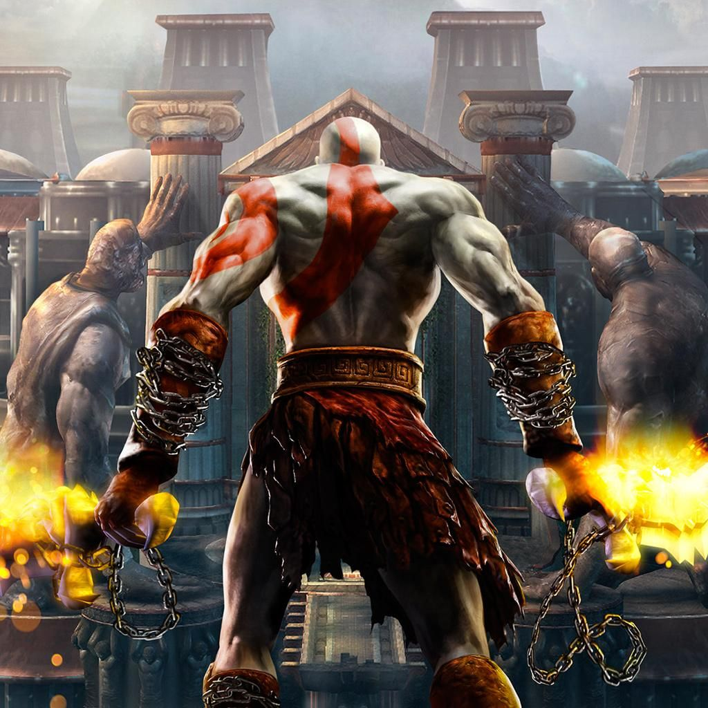 God Of War Ipad Wallpaper Download Iphone Wallpapers Ipad