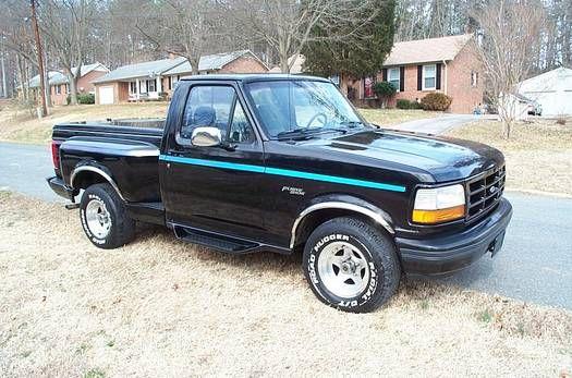 1992 Ford F 150 Nite Flareside Cool Trucks Ford Trucks Ford F150