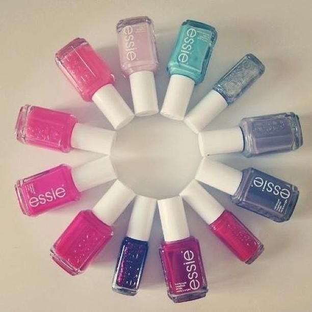 The Color Wheel Nail Goals Pinterest Color Wheels Essie Nail