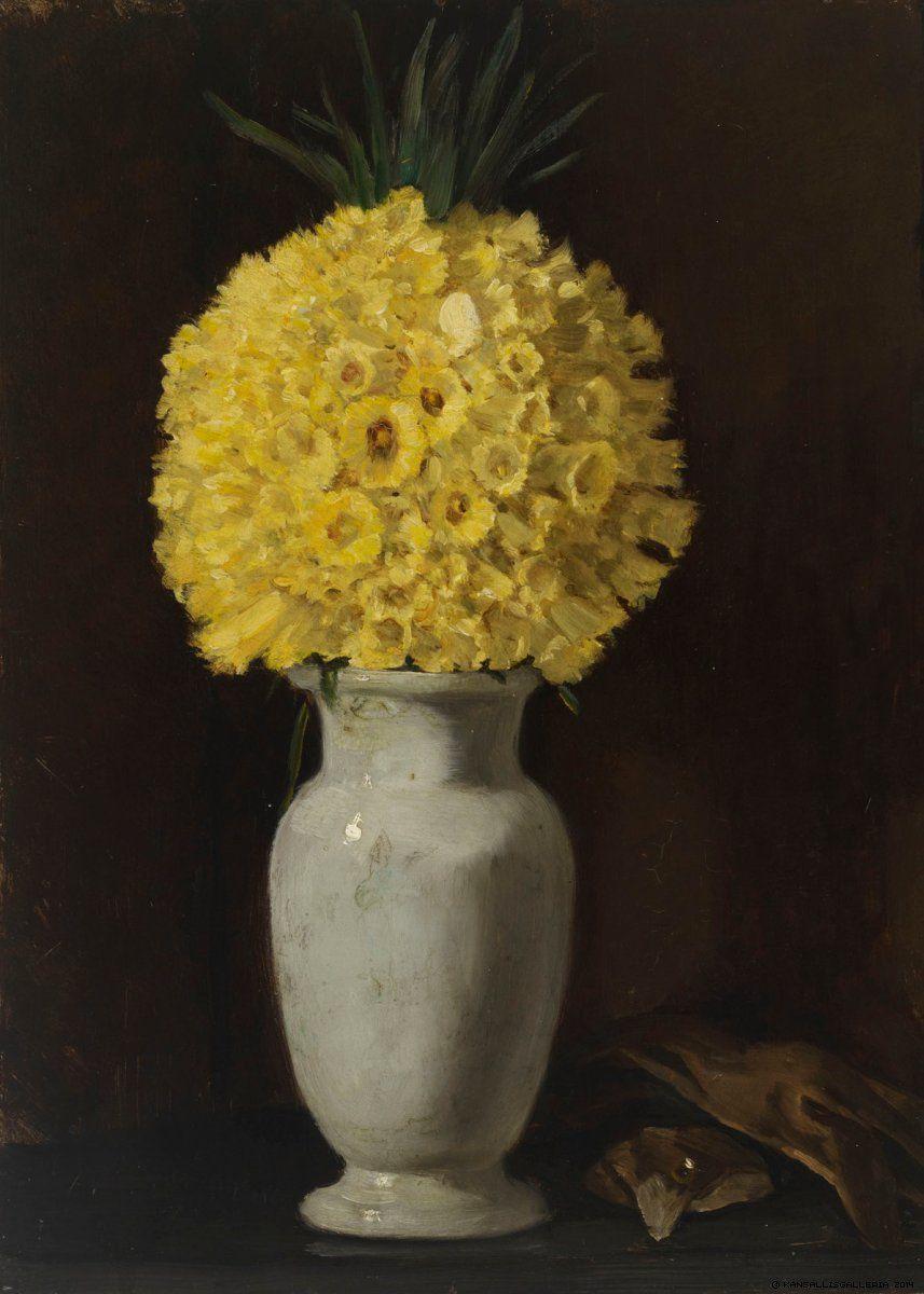 Adolf von becker finnish u a flower picture