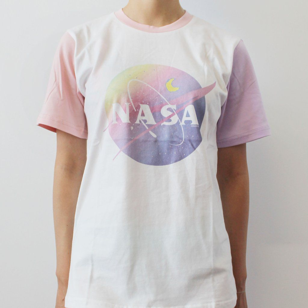 afd831191f27a SOFT GRUNGE - TUMBLR AESTHETIC -PASTEL NASA UNISEX TEE