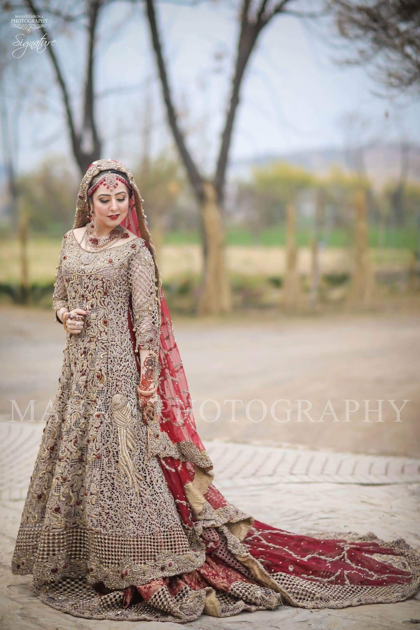 Asian Pakistani Indian Bridal dress tailormade in UK and Europe ...