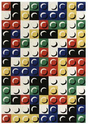 Lego Inspired Brique Rug By Jean Charles De Castelbajac