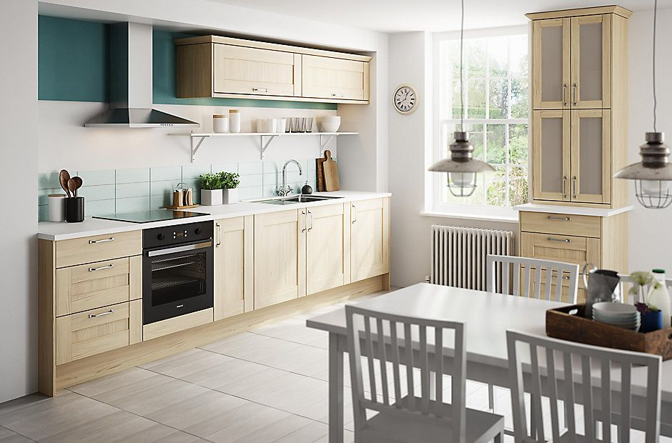 Bu0026Q The UKu0027s Number 1 Kitchen Retailer Offering The IT Westleigh Textured  Oak Effect Shaker Kitchen Part 65