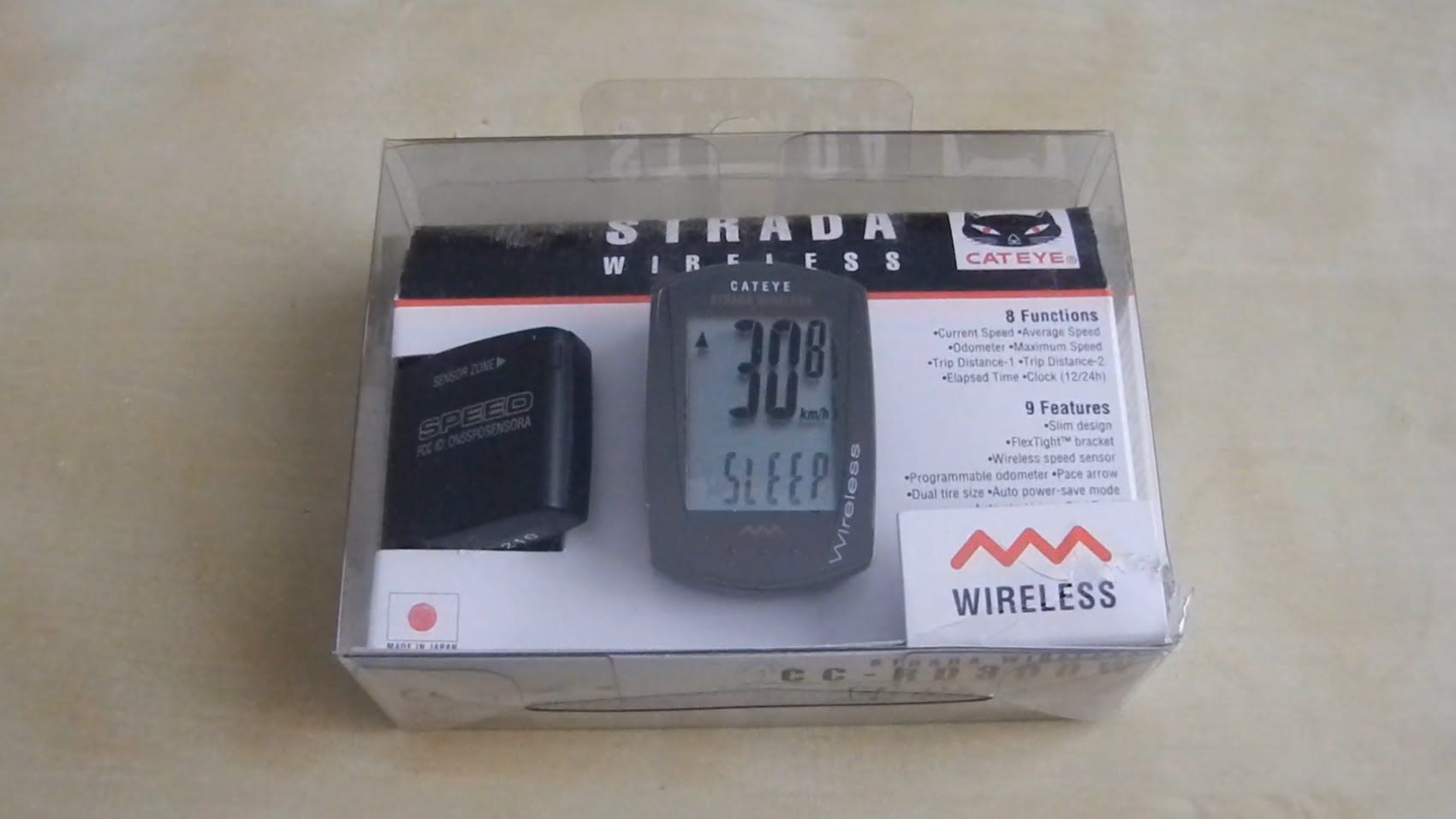Unboxing And Review Of Cateye Strada Wireless Bicycle Computer Cc