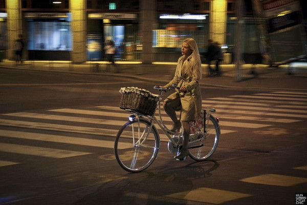 The most important thing is to get a simple Dutch-style bike with a basket or racks.