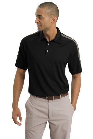 76e527273 Black Polo with Khakis