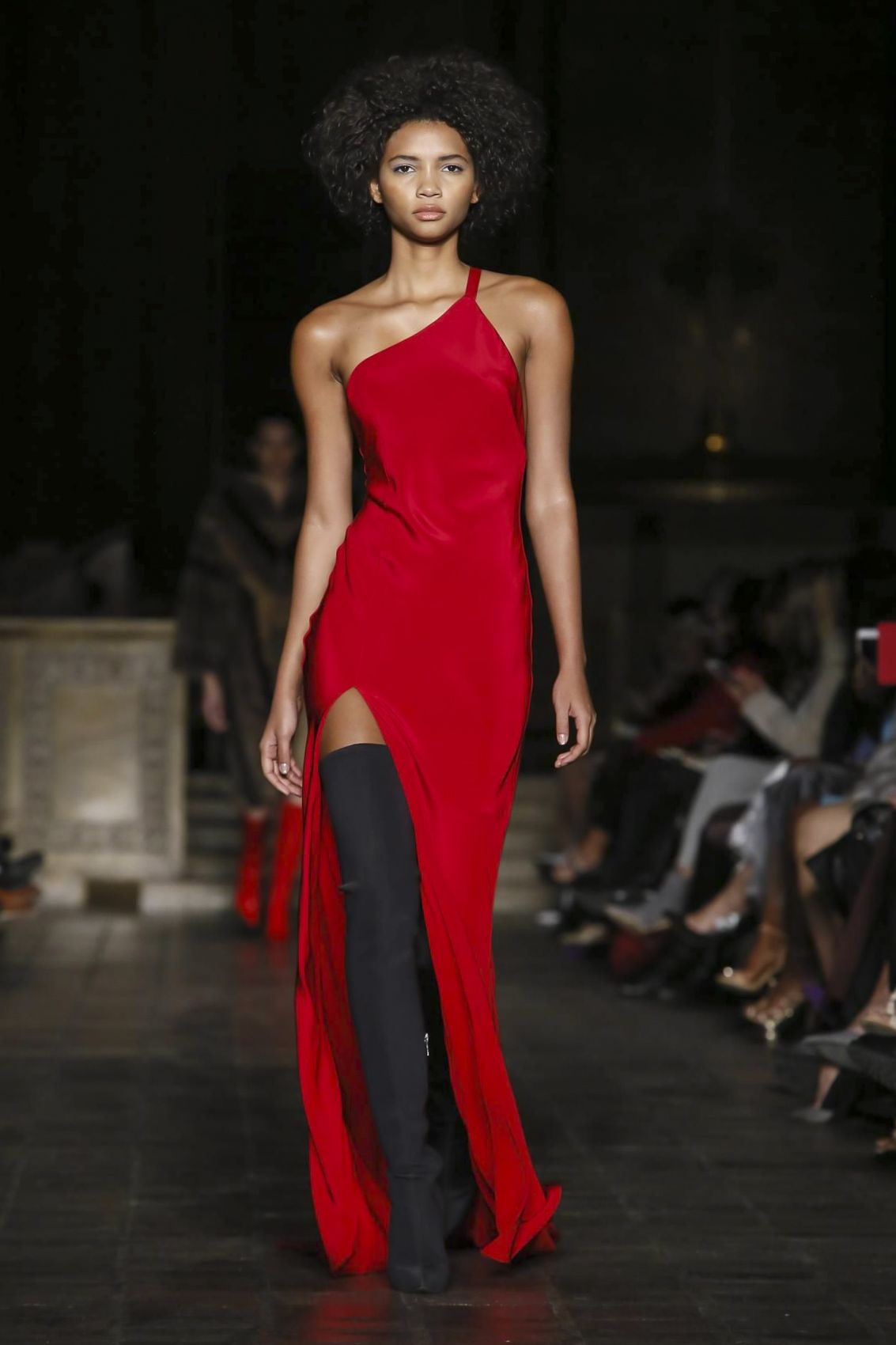 Dennis basso ready to wear fall winter new york in prom