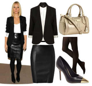 089f7e4aeb pencil skirt outfits | black leather pencil skirt formal outfit ...