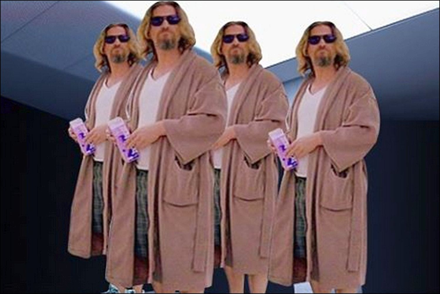 Luxury Big Lebowski Dressing Gown Ornament - Best Evening Gown ...