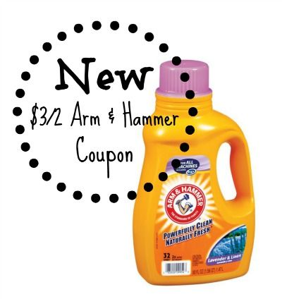 New 3 2 Arm Hammer Laundry Detergent Coupon Just 1 33 Each