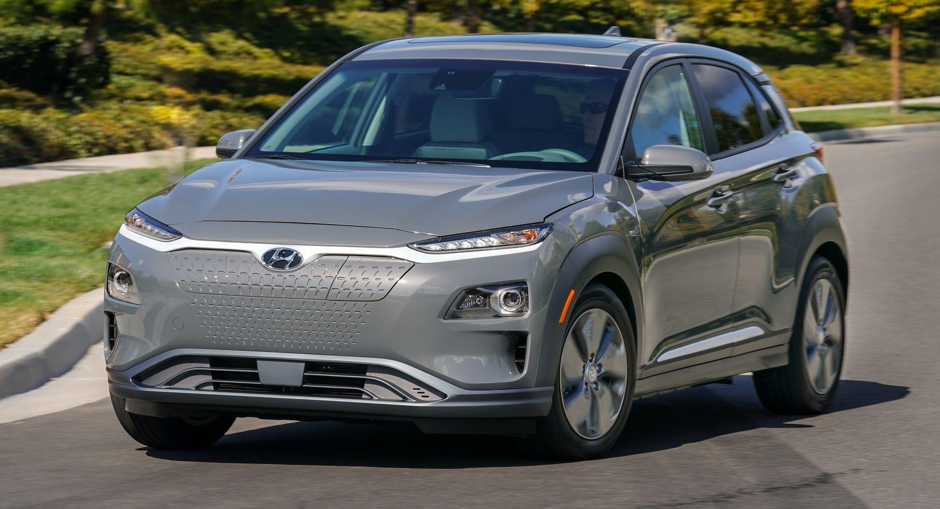 Us Spec Hyundai Kona Electric Promises An Impressive 250 Miles Of Ev Range Poster