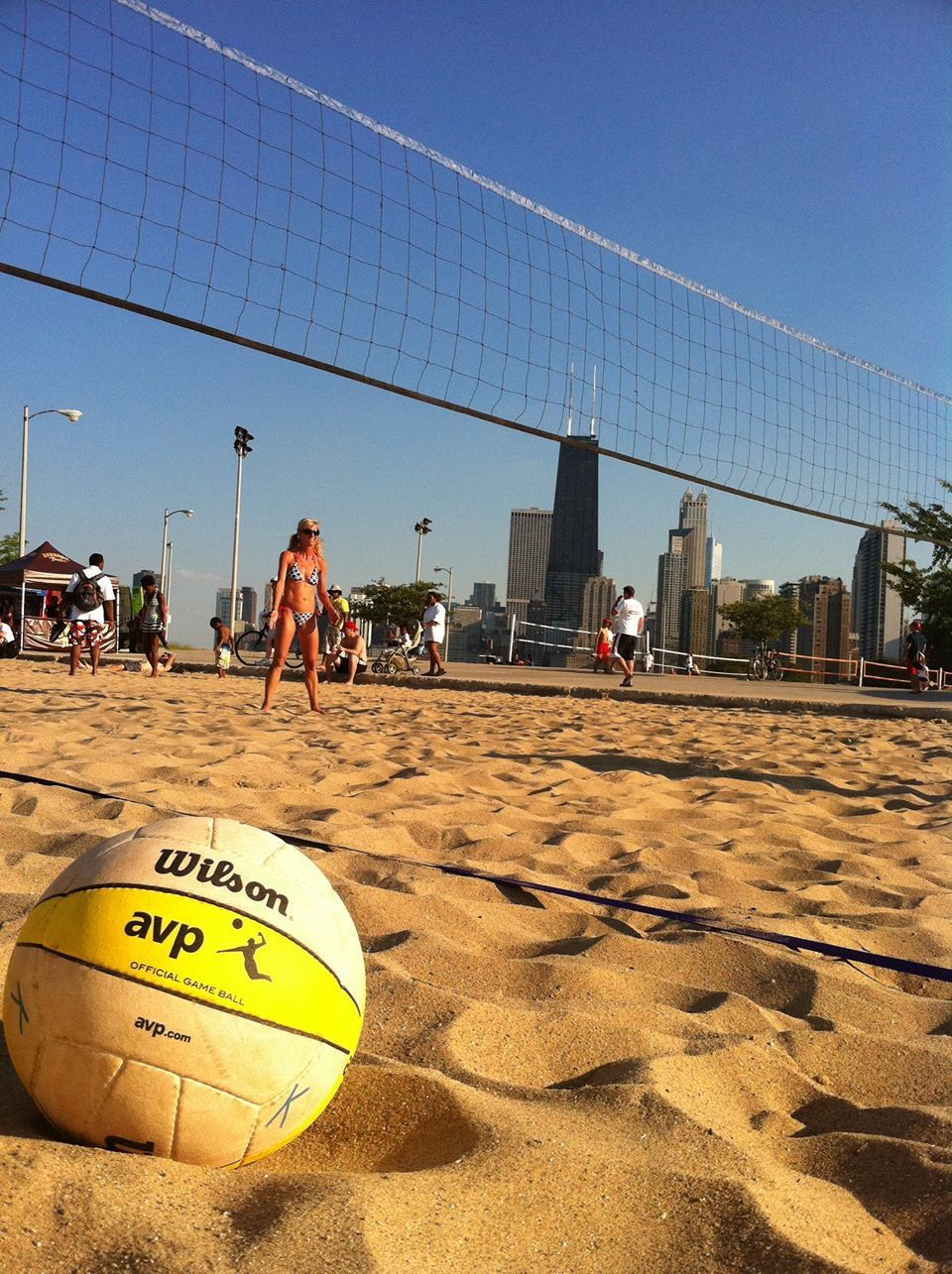 Chicago North Avenue Beach Volleyball Movie In The Park Chicago Riverwalk World Class City