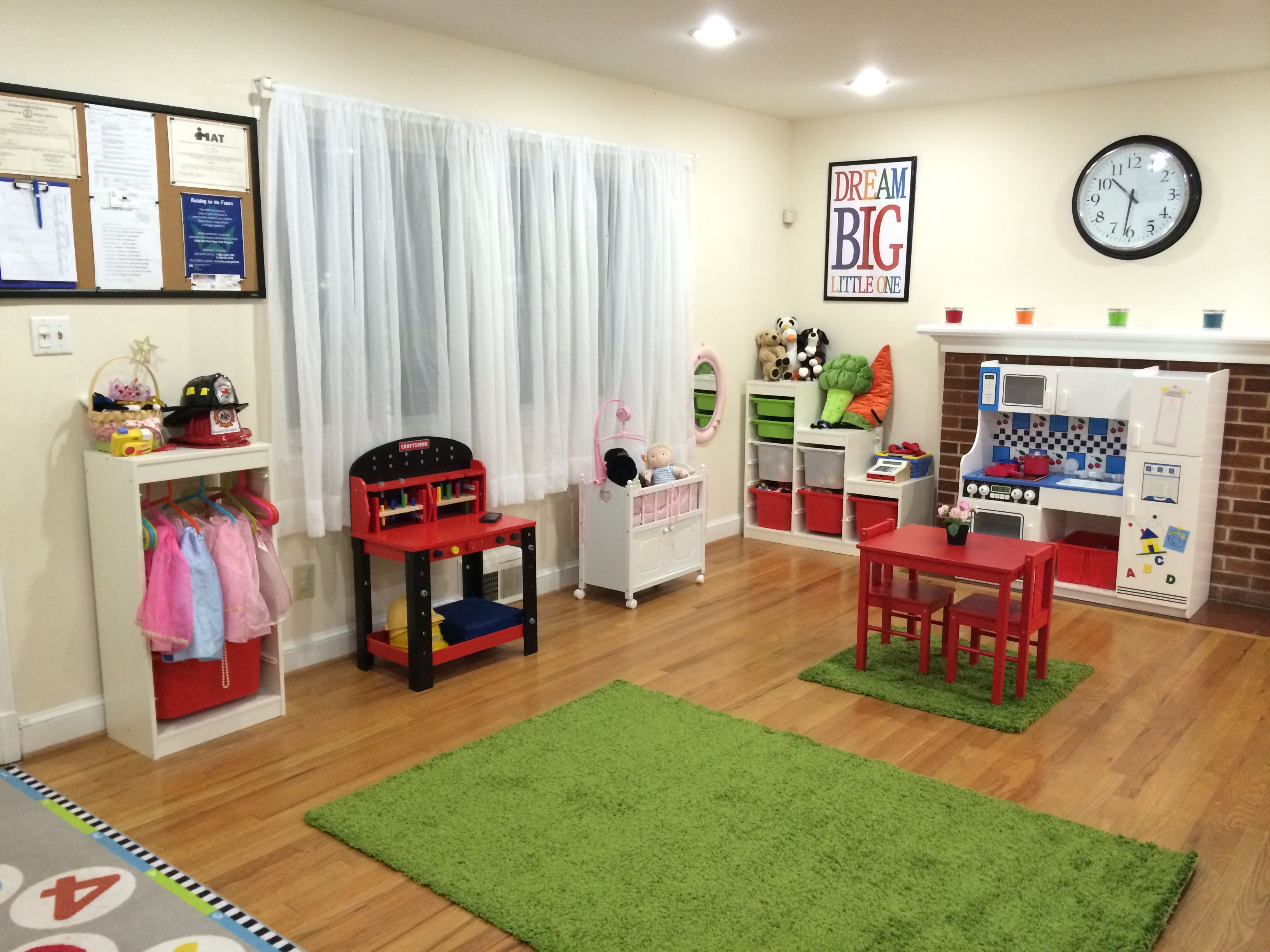 New Home Daycare Setup A Lot Of It Was Pinterest Inspired - Home daycare design ideas