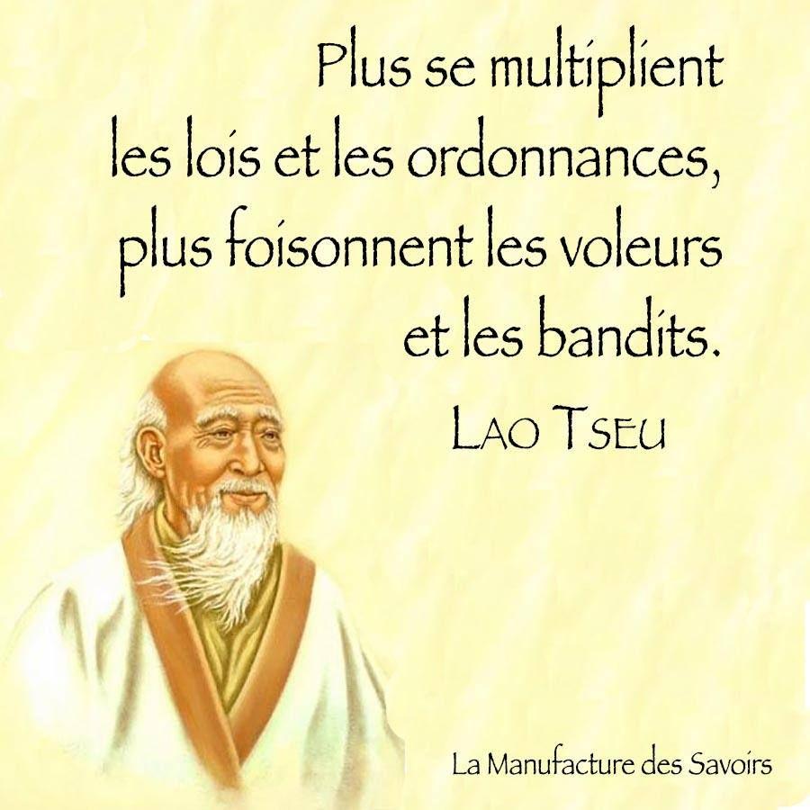 Lao Tseu | Lao tseu, Proverbes et citations, Citation