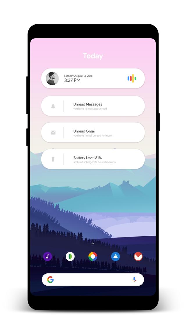 [Theme] PIXEL SETUP androidthemes Setup, Pixel, Homescreen