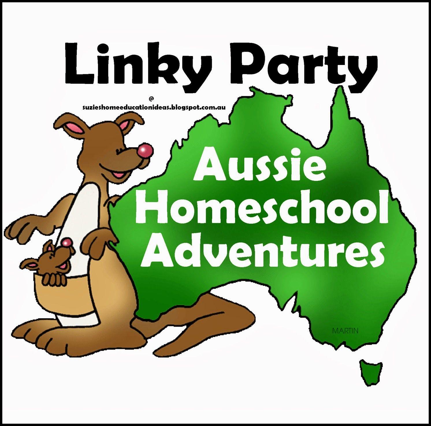 Aussie Homeschool Adventures Linky Party 2