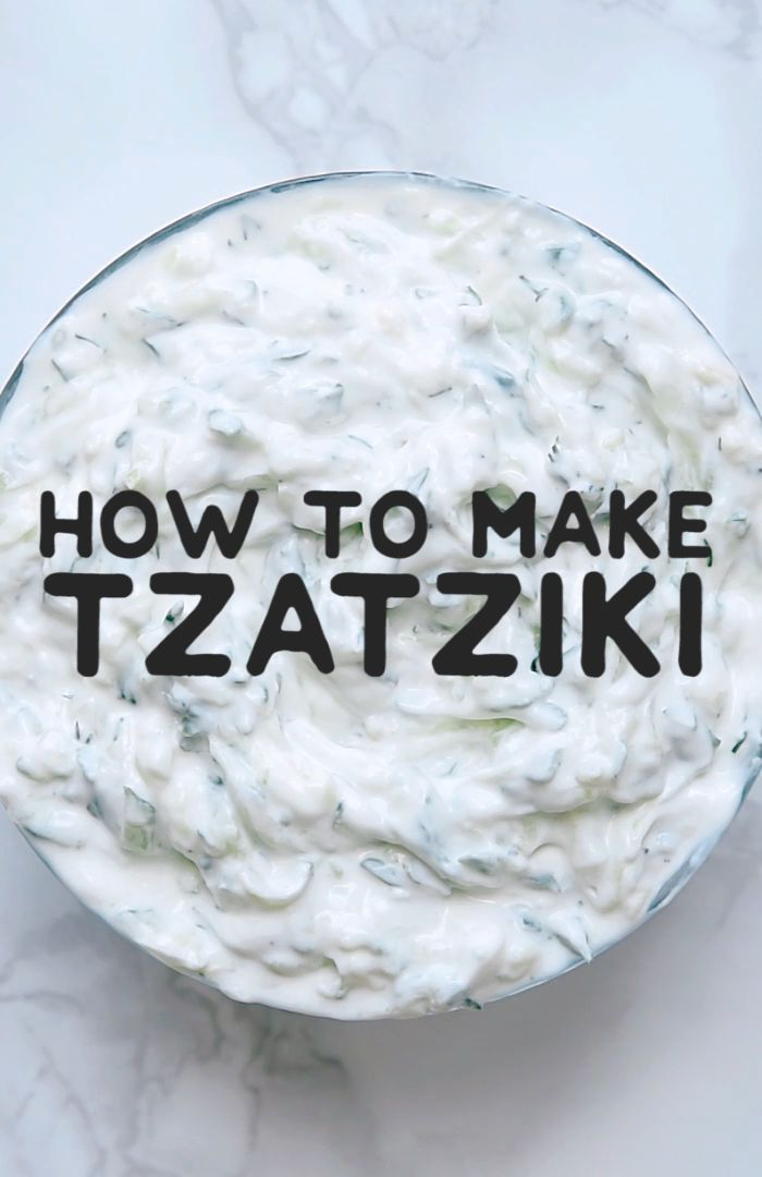 World's Best Tzatziki This healthy and refreshing tzatziki recipe is a simple and classic Greek yogurt sauce. A great easy dipping sauce for on gyros, as a salad dressing, or for dipping crackers or fresh veggies!