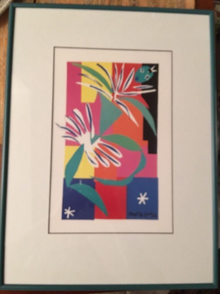 Henri Matisse 1950 La Danseuse Creole Framed Print Creole Dancer ...
