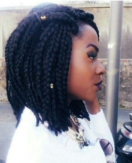 Braids The Side View Is What Giving Me Life Short Box