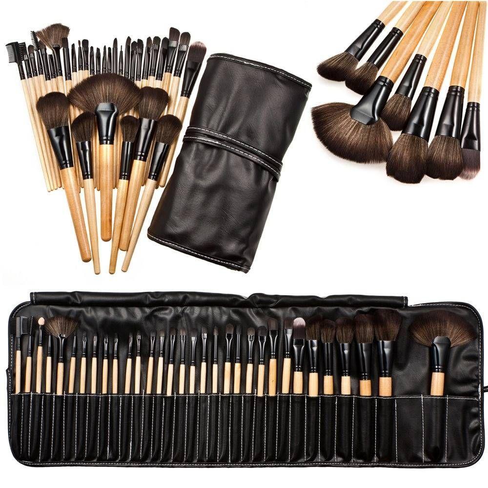 32pcs Makeup Brush Sets Professional Soft Cosmetic Eyebrow